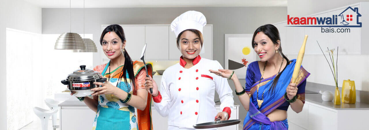 Maids Service in Kandivali- Full Time Maids Agency Mumbai